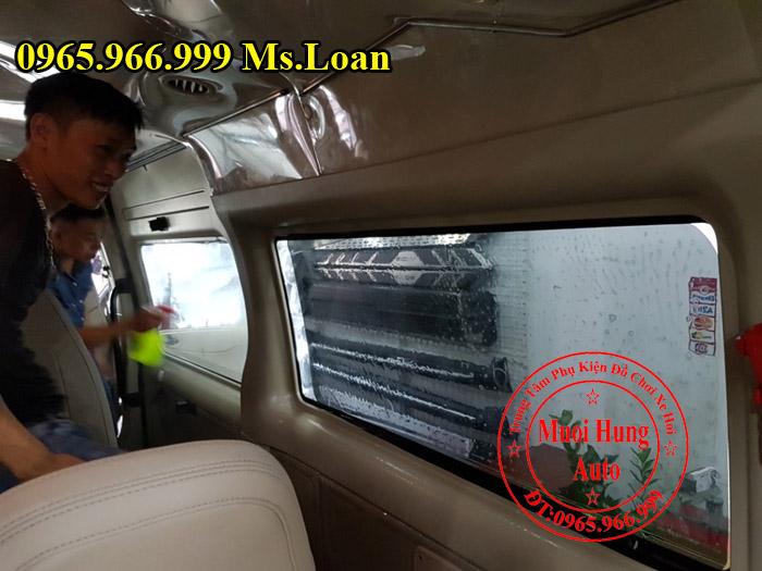 Dán Phim Cách Nhiệt Llumar Xe Ford Transit 02