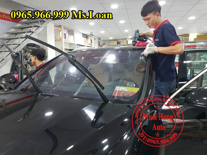 Dán Phim Cách Nhiệt NTech Xe Audi A4 04