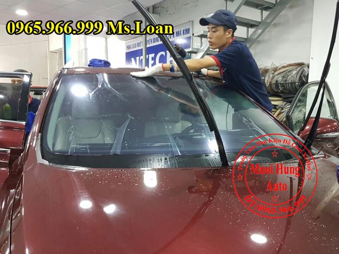 Dán Phim Cách Nhiệt NTech Xe Mazda 3 04
