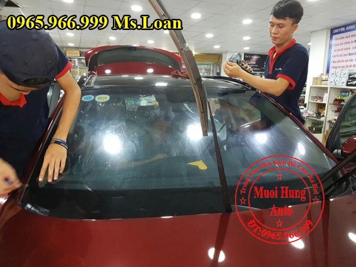 Dán Phim Cách Nhiệt NTech Xe Toyota Altis 04