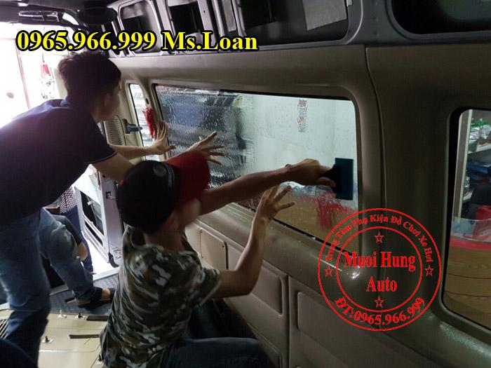 Dán Phim Ntech Chính Hãng Xe Ford Transit 02