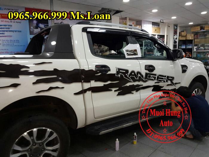 Dán Tem Ford Ranger Wildtrak 2016 Tại Tphcm 05