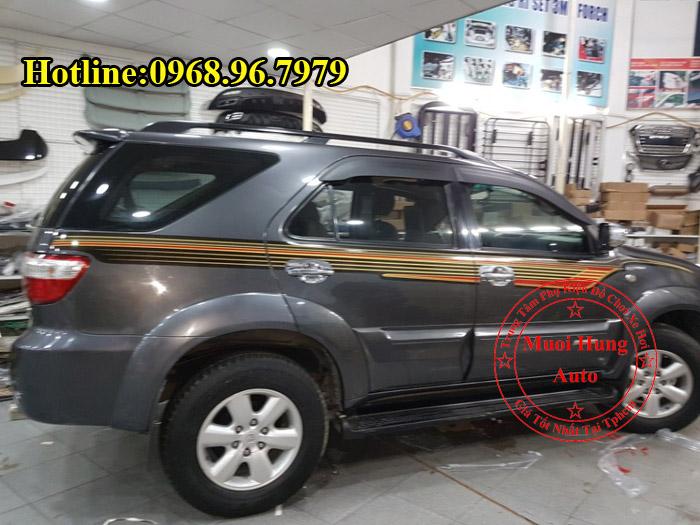 Dán Tem Toyota Fortuner Chuyên Nghiệp Tại Tphcm