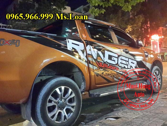 Dán Tem Xe Ford Ranger 2016 Siêu Đẹp 02