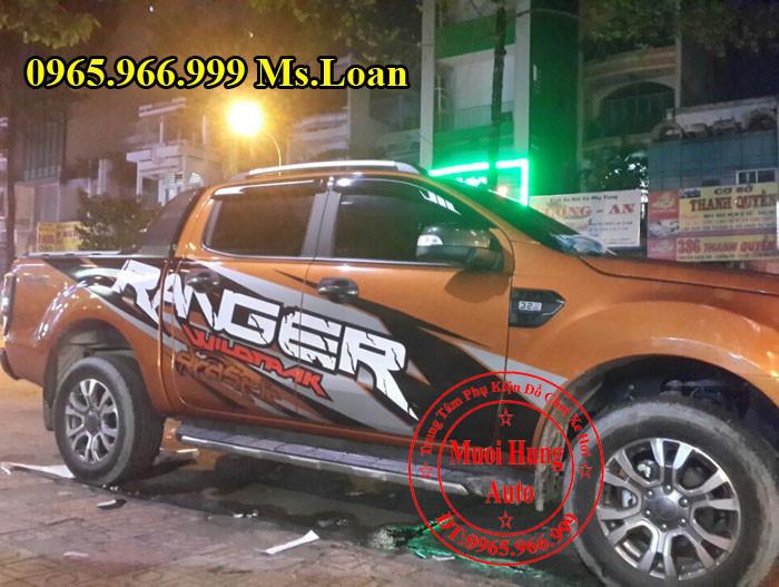 Dán Tem Xe Ford Ranger 2016 Siêu Đẹp 03