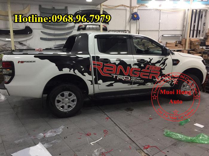 Dán Tem Xe Ford Ranger 2017 Cao Cấp