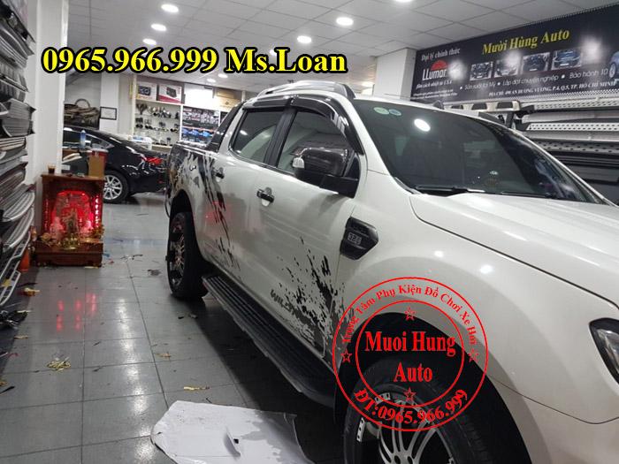 Dán Tem Xe Ford Ranger Wildtrak Tại Tphcm 02