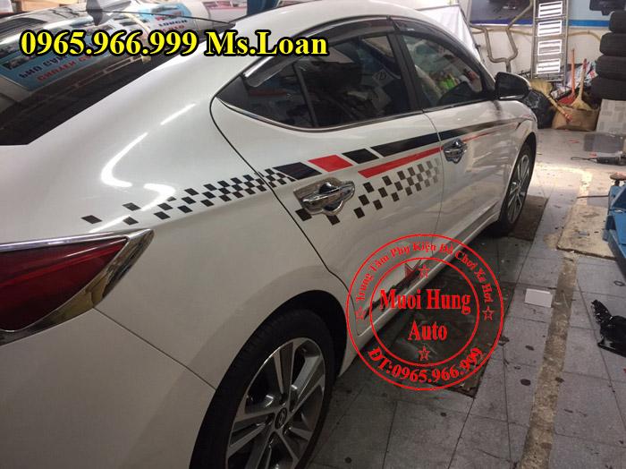 Dán Tem Cho Xe Hyundai Elantra 2016, 2017 02