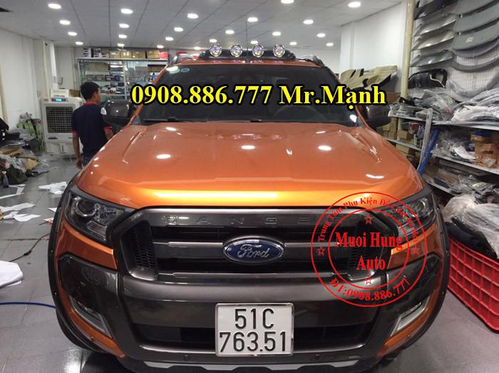 Đèn Mui Cho Xe Ford Ranger 2016  02