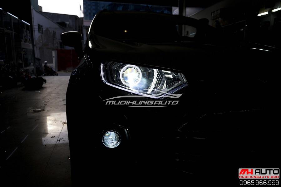 Độ Bi Xenon Pha, Bi Cản Cho Xe Ecosport 07