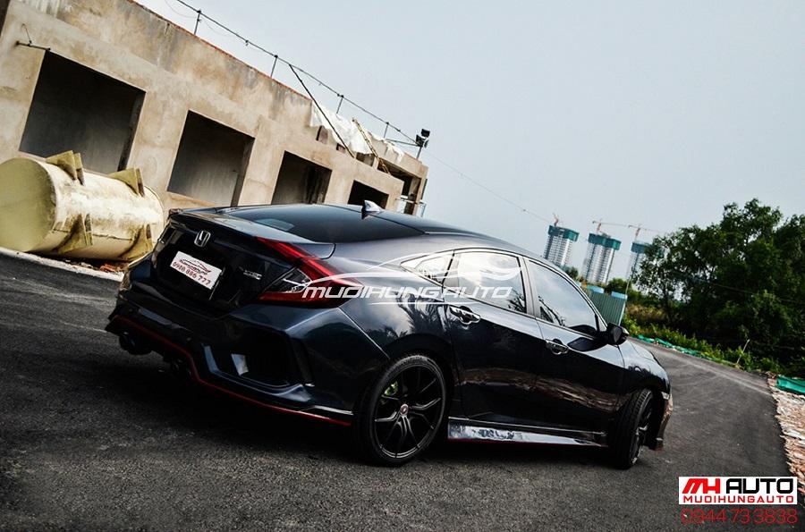 Độ Body Kit Type R Cho Xe Honda Civic 03