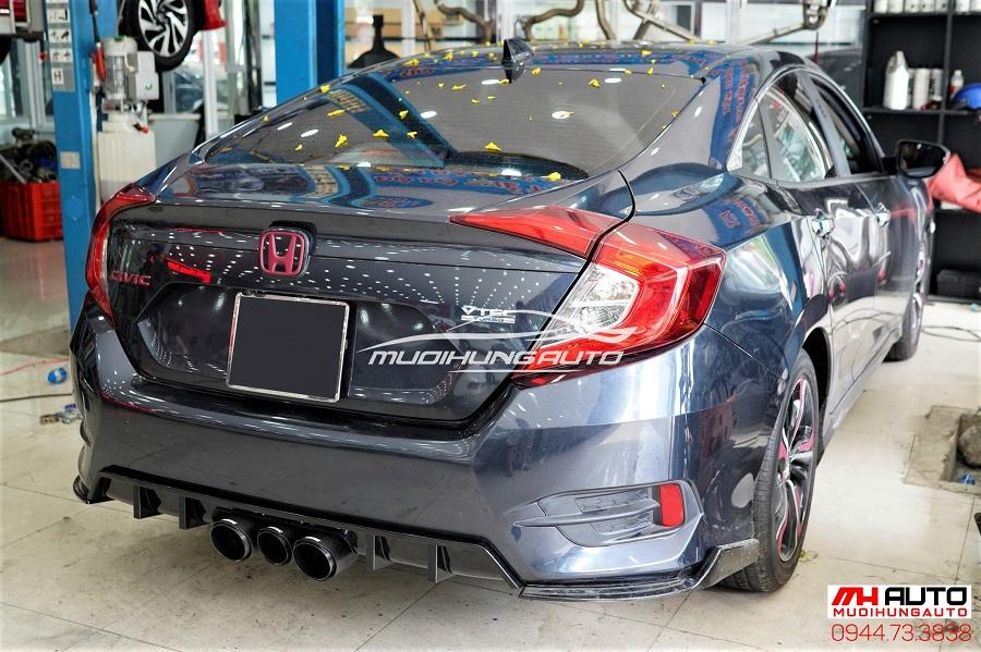 Độ Body Kit Type R Cho Xe Honda Civic 08