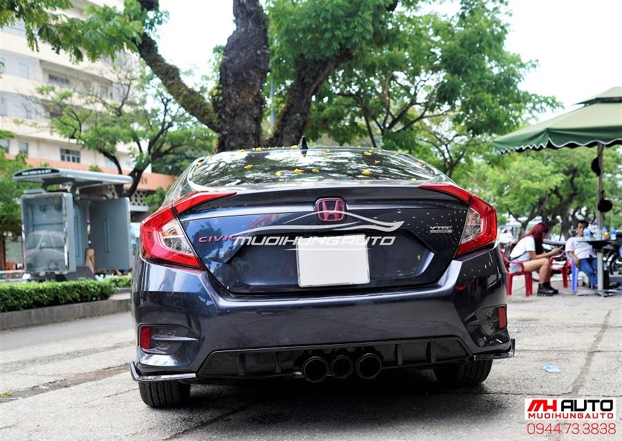 Độ Body Kit Type R Cho Xe Honda Civic 09
