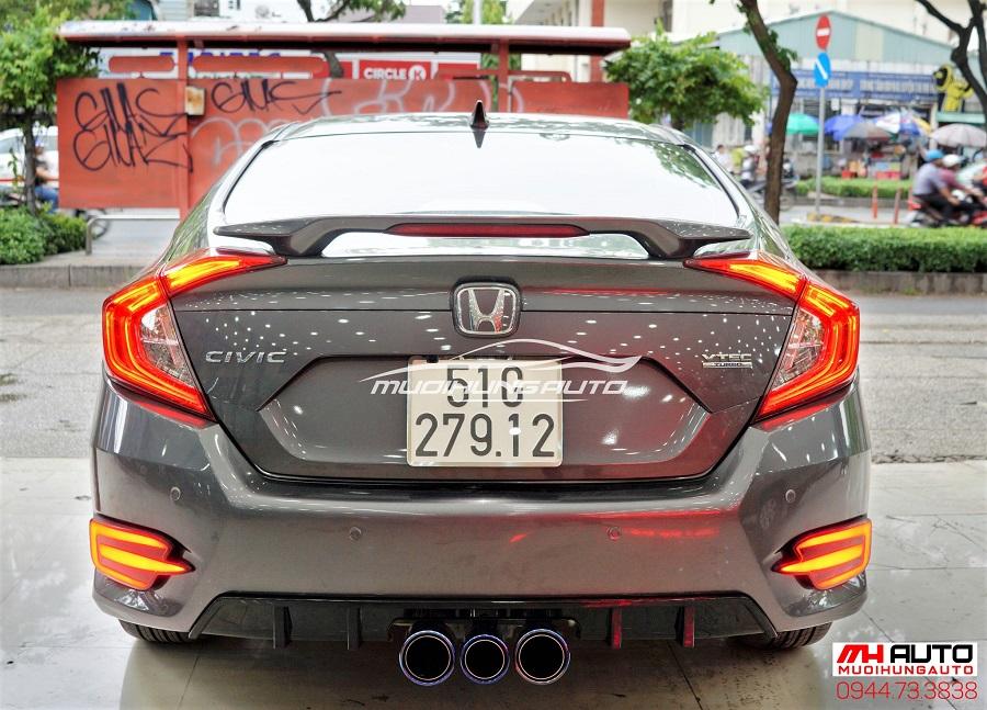 Độ Body Kit Type R Cho Xe Honda Civic 10