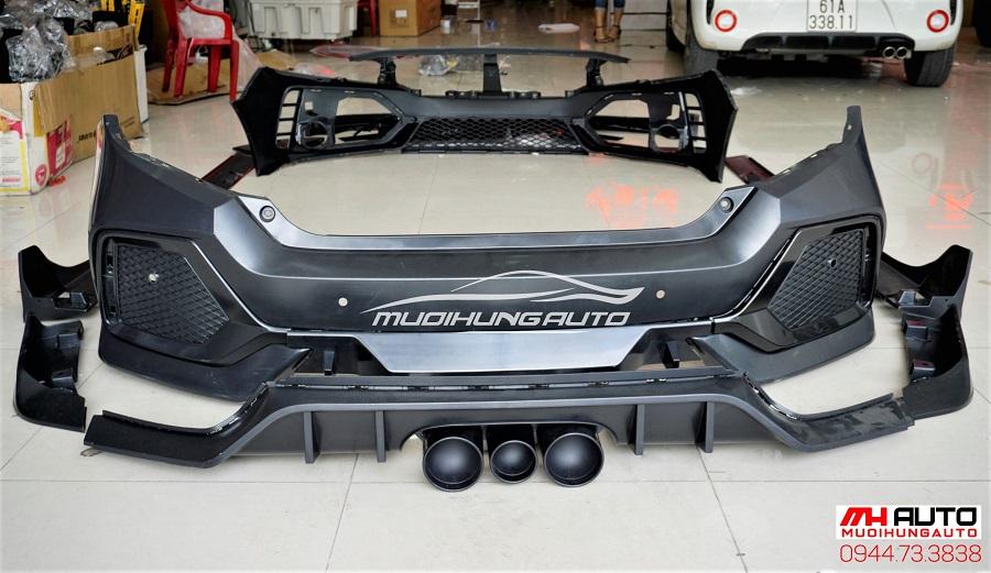 Độ Body Kit Type R Cho Xe Honda Civic 06