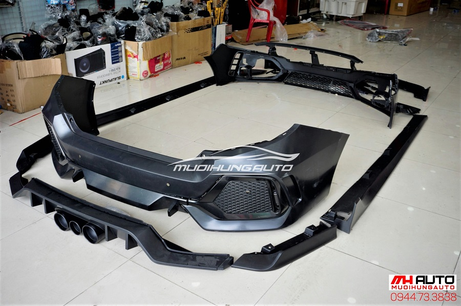Độ Body Kit Type R Cho Xe Honda Civic 07