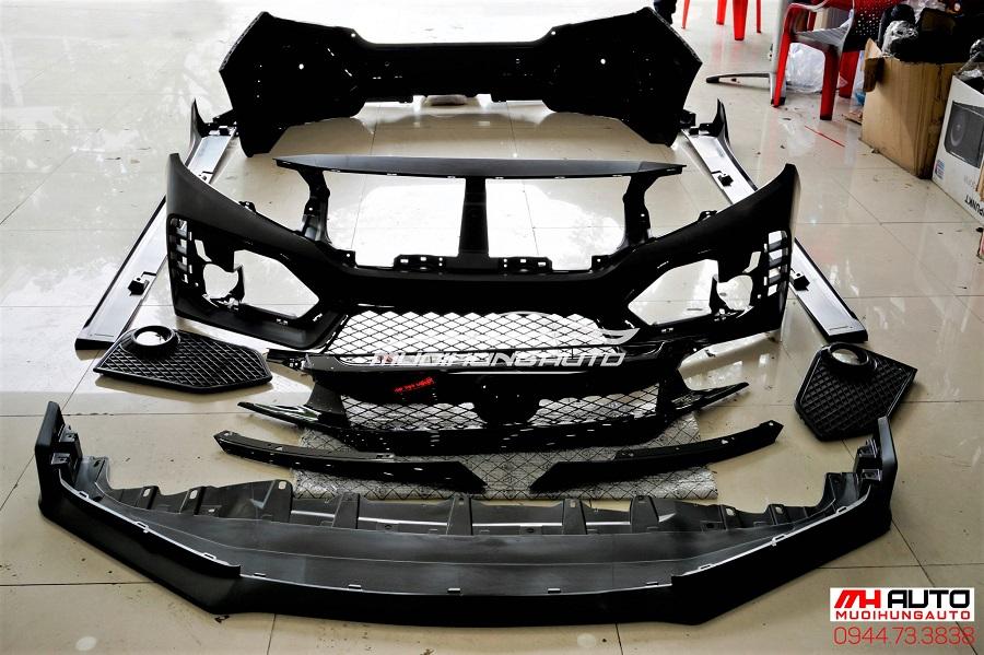 Độ Body Kit Type R Cho Xe Honda Civic 04