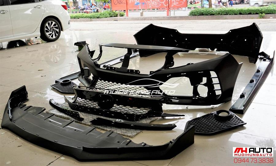 Độ Body Kit Type R Cho Xe Honda Civic 05