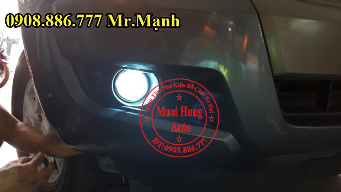Độ Đèn Bi Gầm Ford Ranger 2016, 2017 02