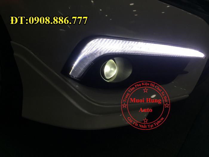 Độ Đèn Bi Gầm Xe Civic 2016, 2017