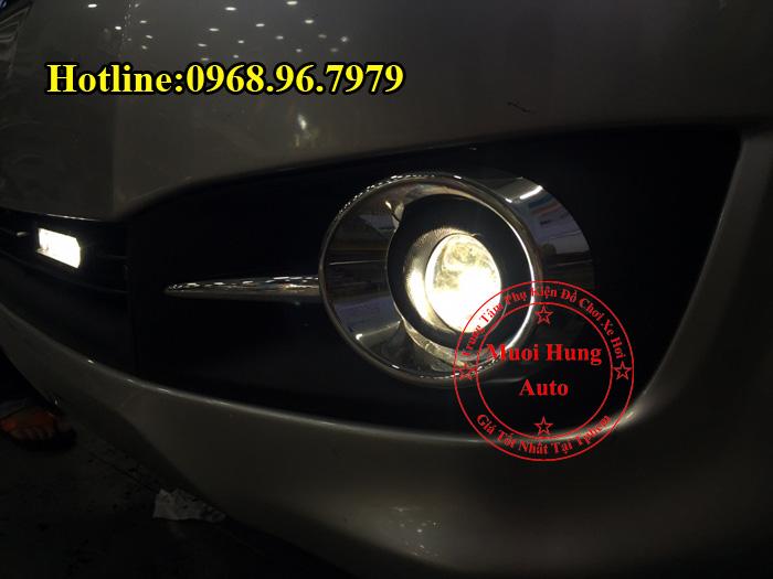 Độ Đèn Bi Gầm Toyota Innova Siêu Sáng 03