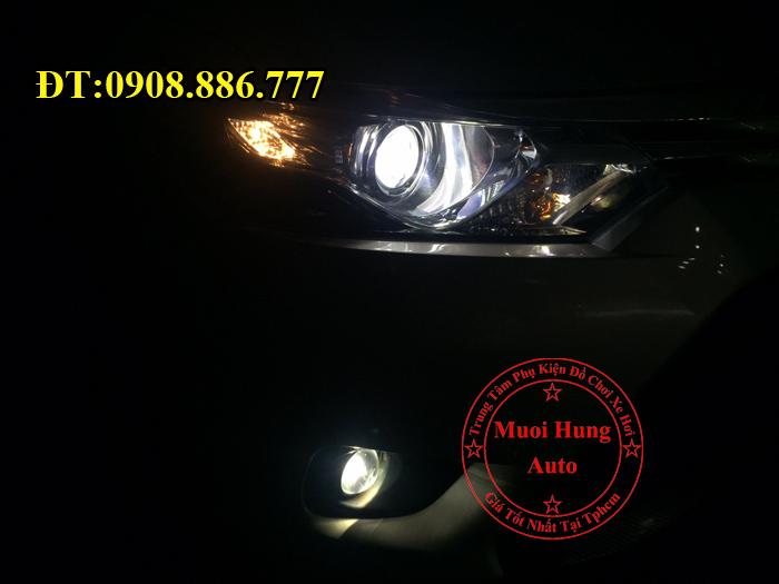 Độ Đèn Bi Gầm Toyota Vios 2016, 2017 02