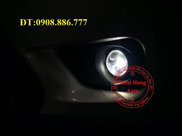 Độ Đèn Bi Gầm Toyota Vios 2016, 2017