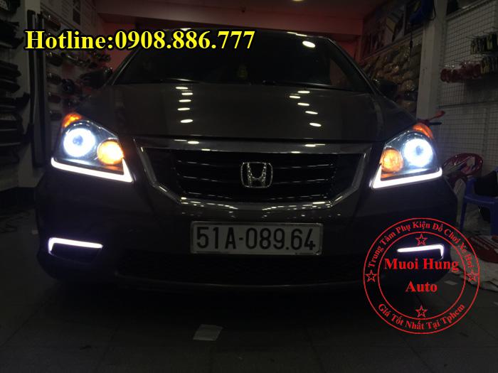Độ Đèn Bi Xenon Honda Odyssey Tại Tphcm 03