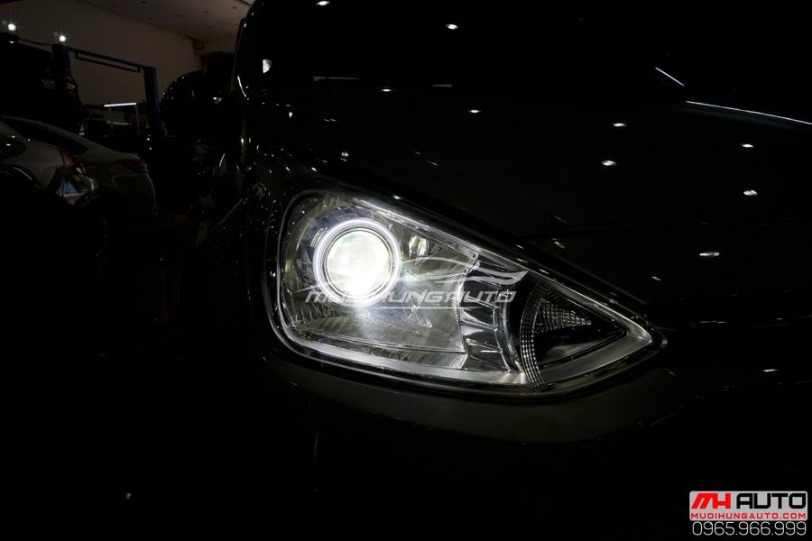 Độ Đèn Bi Xenon Hyundai i10 Chuyên Nghiệp 05