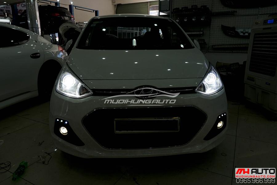 Độ Đèn Bi Xenon Hyundai i10 Chuyên Nghiệp 10