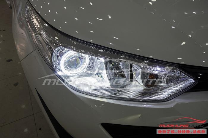 Độ Đèn Bi Xenon Toyota Vios 2019 Chuyên Nghiệp 01