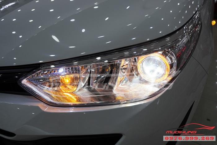 Độ Đèn Bi Xenon Toyota Vios 2019 Chuyên Nghiệp 04