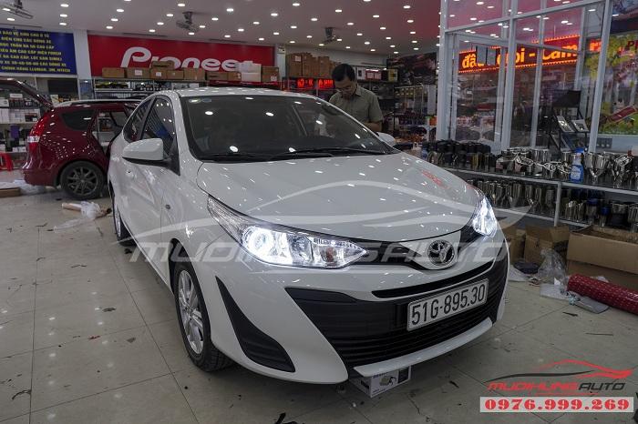 Độ Đèn Bi Xenon Toyota Vios 2019 Chuyên Nghiệp 06