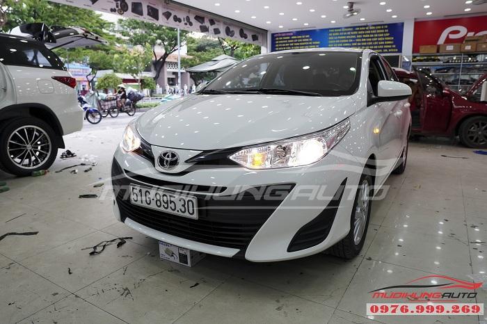 Độ Đèn Bi Xenon Toyota Vios 2019 Chuyên Nghiệp 07