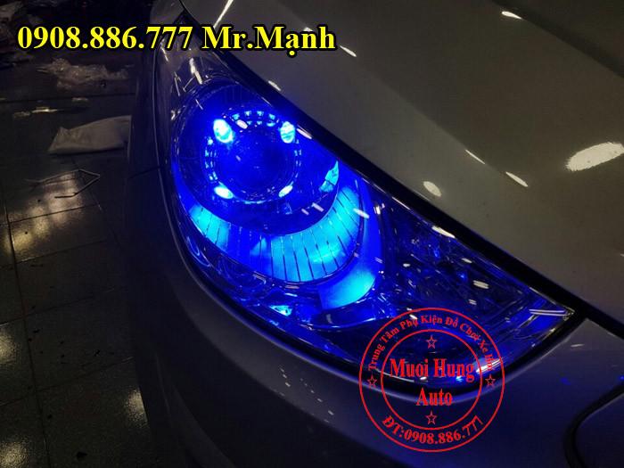 Độ Đèn Cho Xe Hyundai Tucson Tại Tphcm 01