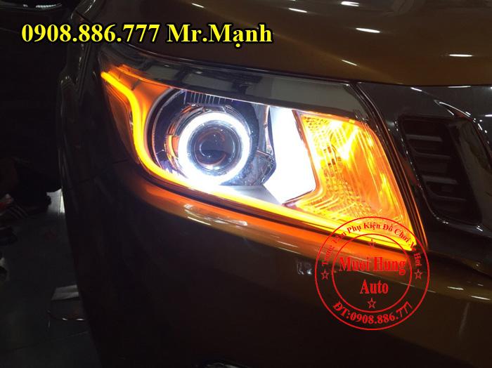 Độ Đèn Cho Xe Nissan Navara Tại Tphcm 04
