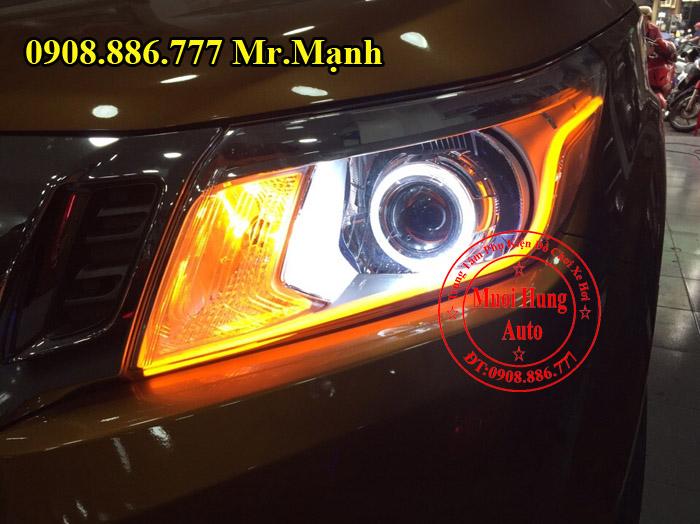 Độ Đèn Cho Xe Nissan Navara Tại Tphcm 05