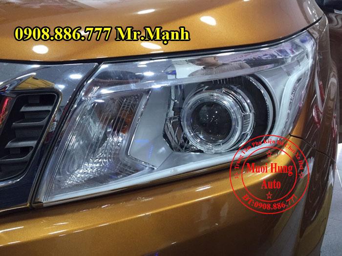 Độ Đèn Cho Xe Nissan Navara Tại Tphcm