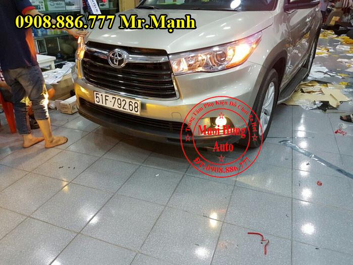 Độ Đèn Cho Xe Toyota Highlander Tại Tphcm 01