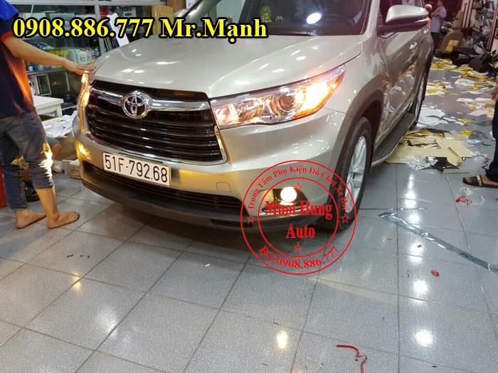 Độ Đèn Cho Xe Toyota Highlander Tại Tphcm