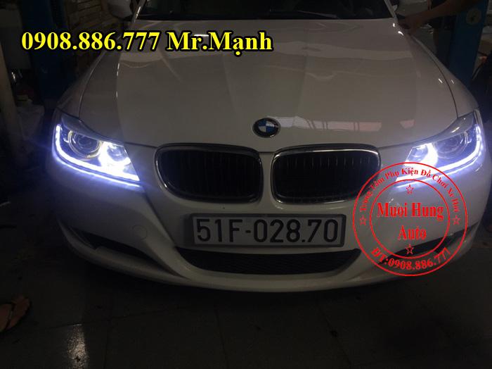 Độ Led Chạy Cho BMW 520i Tại Tphcm 03