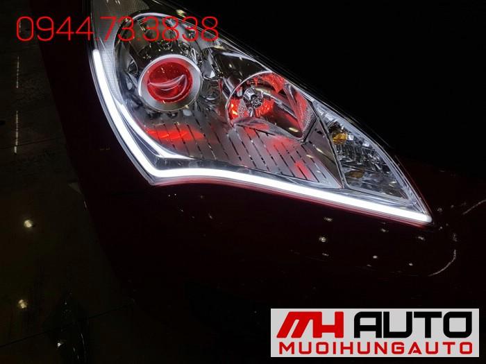 Độ Đèn Led, Mắt Quỷ Xe Hyundai Genesis 03