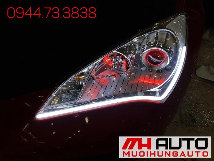 Độ Đèn Led, Mắt Quỷ Xe Hyundai Genesis 04
