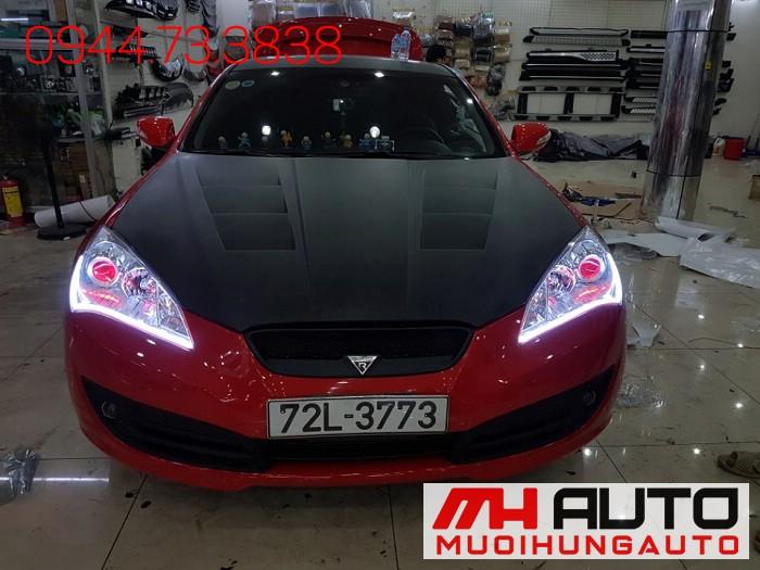 Độ Đèn Led, Mắt Quỷ Xe Hyundai Genesis 05