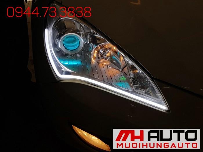 Độ Đèn Led, Mắt Quỷ Xe Hyundai Genesis