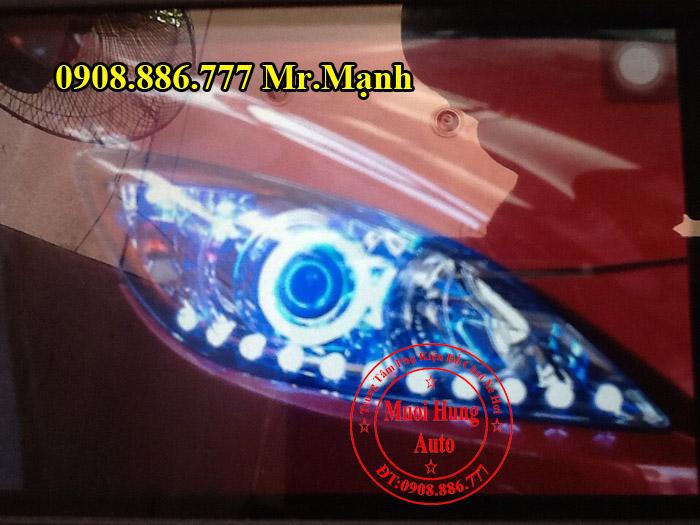Độ Đèn Led Xe Mazda 3 2012