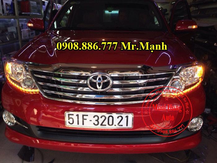Độ Đèn Led Toyota Fortuner Tại TPHCM 02