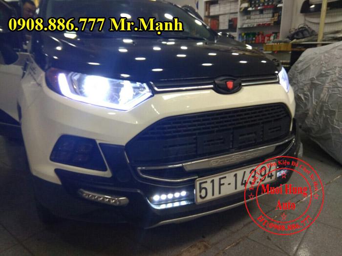 Độ Đèn Ford Ecosport Chuyên Nghiệp Giá Rẻ 02