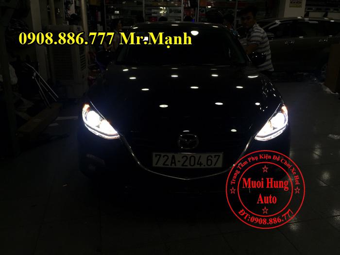 Độ Đèn Led Xe Mazda 3 Tại Tphcm 02