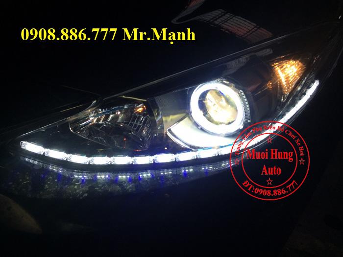 Độ Đèn Led Xe Mazda 3 Tại Tphcm